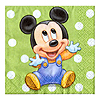 MICKEY'S 1ST BEVERAGE NAPKIN PARTY SUPPLIES