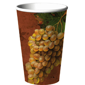Click for larger picture of DISCONTINUED VINEYARD RESERVE 16 OZ. CUP PARTY SUPPLIES