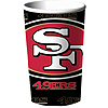SAN FRANCISCO 49ER'S SOUVENR CUP (18/CS) PARTY SUPPLIES