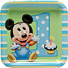 MICKEY'S 1ST DESSERT PLATE PARTY SUPPLIES