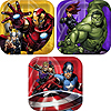 AVENGERS ASSEMBLE DESSERT PLATES PARTY SUPPLIES