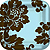 DAMASK FLORAL TABLEWARE