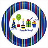 DISCONTINUED SHINE CELEBRATE DINNER PLT PARTY SUPPLIES