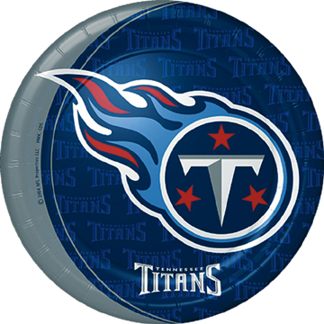 Click for larger picture of DISCONTINUED TENNESSEE TITANS DINNER PLT PARTY SUPPLIES