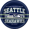 SEATTLE SEAHAWKS DINNER PLATES PARTY SUPPLIES