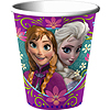 FROZEN 9OZ PAPER HOT-COLD CUP AMS PARTY SUPPLIES