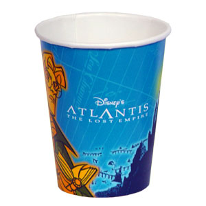Click for larger picture of DISCONTINUED ATLANTIS 9OZ CUP PARTY SUPPLIES