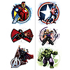 AVENGERS ASSEMBLE TEMP TATTOOS PARTY SUPPLIES