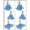 DISCONTINUED CINDERELLA TATTOOS PARTY SUPPLIES