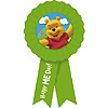 DISCONTINUED POOH & FRIENDS AWARD RIBBON PARTY SUPPLIES
