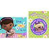 DISCONTINUED DOC MCSTUFFINS INVITE + TY PARTY SUPPLIES