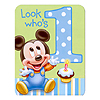 MICKEY'S 1ST INVITATION PARTY SUPPLIES