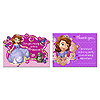 DISCONTINUED SOFIA THE 1ST INVITE+THANK PARTY SUPPLIES
