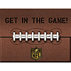 DISCONTINUED NFL PARTY ZONE INVITE PARTY SUPPLIES