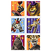 DISCONTINUED MADAGASCAR 3 STICKERS PARTY SUPPLIES