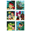 DISCONTINUED JAKE NEVER LAND PR STICKERS PARTY SUPPLIES