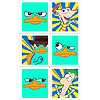 DISCONTINUED PHINEAS & FERB STICKERS PARTY SUPPLIES