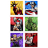 AVENGERS ASSEMBLE STICKERS PARTY SUPPLIES