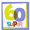 DISCONTINUED THE BIG DAY! 60TH LUNCHNAP PARTY SUPPLIES