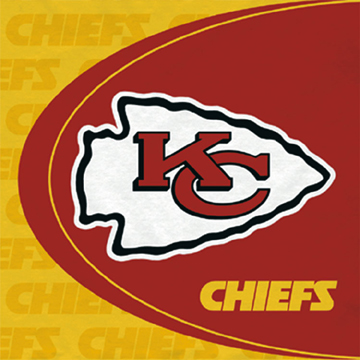 Click for larger picture of DISCONTINUED KANSAS CITY CHIEFS LUNCH NP PARTY SUPPLIES