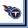DISCONTINUED TENNESSEE TITANS LUNCH NAP PARTY SUPPLIES