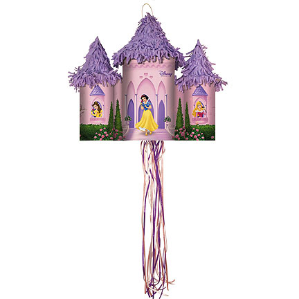 Click for larger picture of DISNEY PRINCESS CASTLE PINATA PARTY SUPPLIES