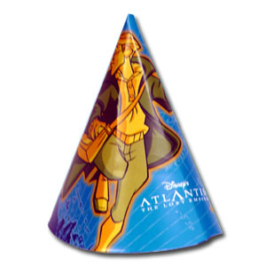 Click for larger picture of DISCONTINUED ATLANTIS CONE HAT PARTY SUPPLIES