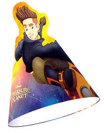 Click for larger picture of DISCONTINUED TREASURE PLANET CONEHAT PARTY SUPPLIES