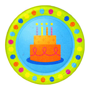 BULK BIRTHDAY FUN DOTS TABLEWARE
