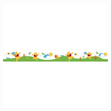 Click for larger picture of DISCONTINUED POOH & FRIENDS STRMR CREPE PARTY SUPPLIES