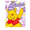 DISCONTINUED POOH'S 1ST PINK THANK YOU PARTY SUPPLIES