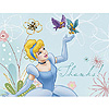 DISCONTINUED CINDERELLA THANK YOU NOTE PARTY SUPPLIES