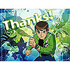 DISCONTINUED BEN 10 AF THANK YOU NOTE PARTY SUPPLIES