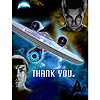 STAR TREK NEW THANK YOU PARTY SUPPLIES