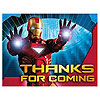 DISCONTINUED IRON MAN 2 THANK-YOU PARTY SUPPLIES