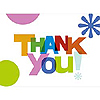 DISCONTINUED THE BIG DAY THANK YOU NOTES PARTY SUPPLIES