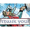 DISCONTINUED THOR THANK YOU NOTES PARTY SUPPLIES