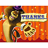 DISCONTINUED MADAGASCAR 3 THANK YOU NOTE PARTY SUPPLIES