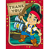 DISCONTINUED JAKE NL PIRATE THANK YOU PARTY SUPPLIES
