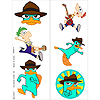 DISCONTINUED PHINEAS & FERB TATTOO'S PARTY SUPPLIES