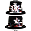 2000 - 19TH BIRTHDAY TOP HAT PARTY SUPPLIES