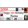 2000 PERSONALIZED BANNER PARTY SUPPLIES