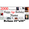 2000 DELUXE PERSONALIZED BANNER PARTY SUPPLIES