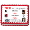 2000 PERSONALIZED ICING ART PARTY SUPPLIES