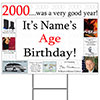2000 PERSONALIZED YARD SIGN PARTY SUPPLIES
