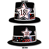 2001 - 18TH BIRTHDAY TOP HAT PARTY SUPPLIES