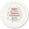 2001 - BIRTHDAY DINNER PLATE PARTY SUPPLIES