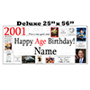 2001 DELUXE PERSONALIZED BANNER PARTY SUPPLIES