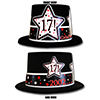 2002 - 17TH BIRTHDAY TOP HAT PARTY SUPPLIES