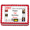2002 PERSONALIZED EDIBLE CAKE IMAGE PARTY SUPPLIES